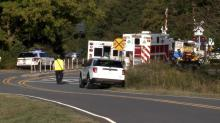 IMAGE: 2 killed when Raleigh-bound Amtrak train collides with vehicle in Cabarrus County