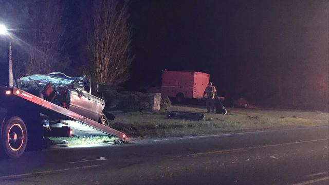 Wreck in Chatham County