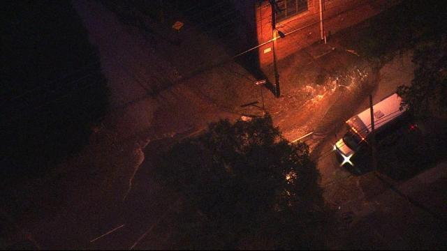 Large water main break closes Duke Street in downtown Durham