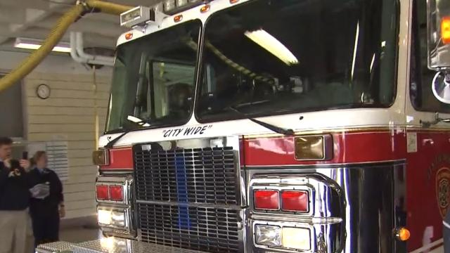 Durham adds recommissioned fire and rescue unit - WRAL.com
