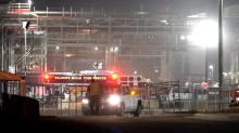 IMAGE: Hazmat response put into place after Clayton chemical spill