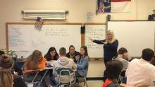 IMAGES: Your opinions matter: High schoolers learn lessons on impeachment and respect