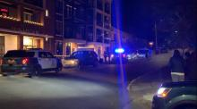 IMAGES: Man seriously injured after falling from apartment balcony near NC State