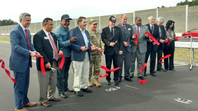 I-295 open ribbon cutting