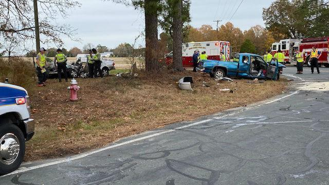 Serious wreck in Harnett County