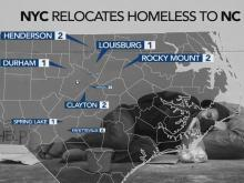 Homeless NY families paid to relocate to NC, other states