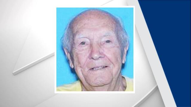 Deputies say 87-year-old Thomas Parrish was last seen leaving his home near the 5800 block of Timber Lane in Raleigh.