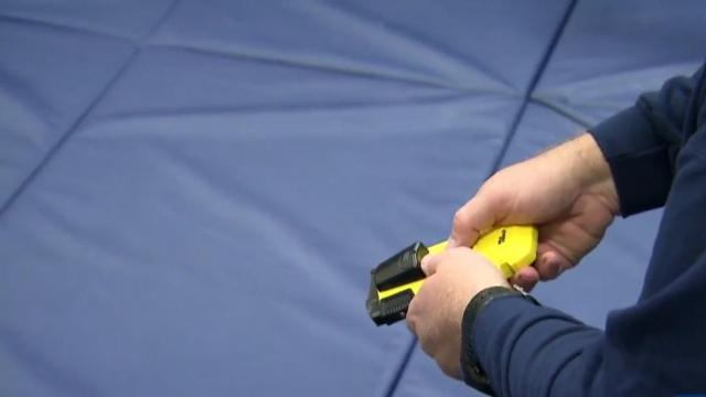 New device allows restraint without lethal force