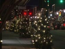 Downtown Laurinburg gets into Christmas spirit with trees, lights, festive spirit