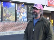 Talented artist helps Nash County grocery store get into Christmas spirit