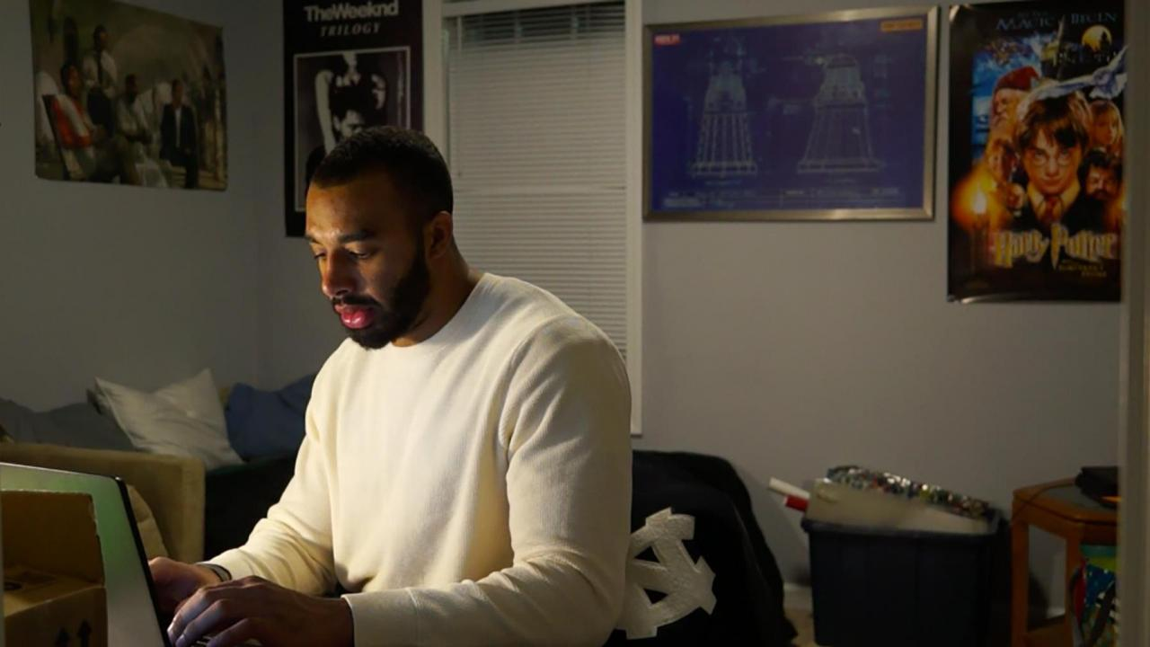 UNC football player finds love, comfort after opening up about ...