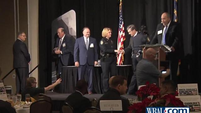 First responders honored during ceremony in Raleigh