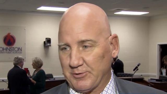 Michael Wooten, Chairman, Johnston County School Board