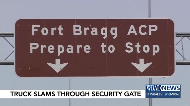 Fort Bragg gate reopens after security incident