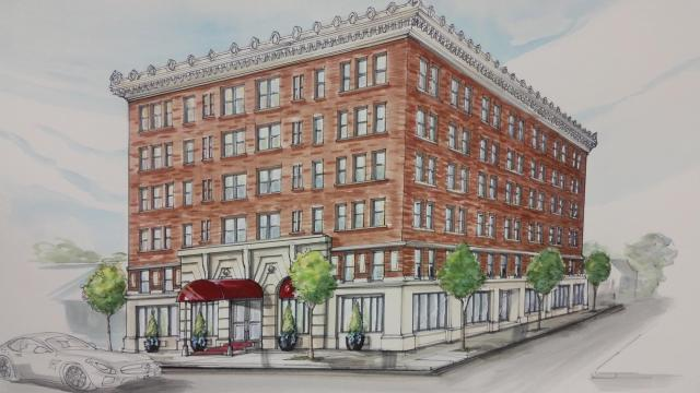 The historic Cherry Hotel on Nash Street in downtown Wilson is getting a $19.9 million facelift.