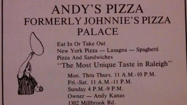Andy's Pizza in Quail Corners