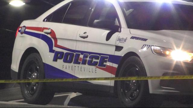 Fayetteville police investigate a shooting at Sparky's Sports Bar & Gentlemen's Club.