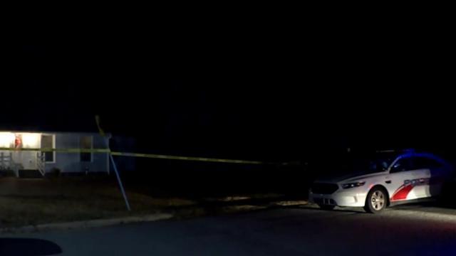 Crime scene tape surrounds Rocky Mount home