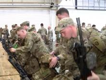 Fort Bragg troops getting ready for trip to Middle East