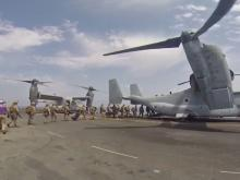 2,500 marines from Camp Lejeune redirected to Middle East