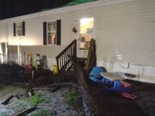 South Carolina high school badly damaged in overnight storms