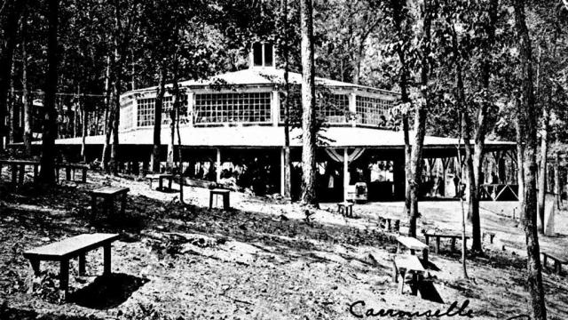 The Bloomsbury Park carousel and dance hall were trendy hangouts in the 1910s in Raleigh. Image courtesy of the State Archives of North Carolina.