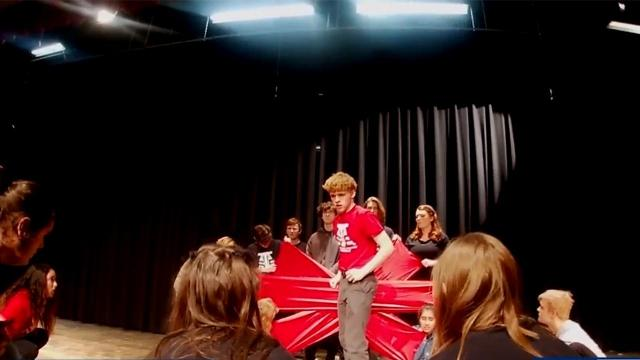 Sanderson High School heads to Kentucky for national theater conference