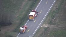 IMAGES: School bus with 7 elementary students crashes in Nash County