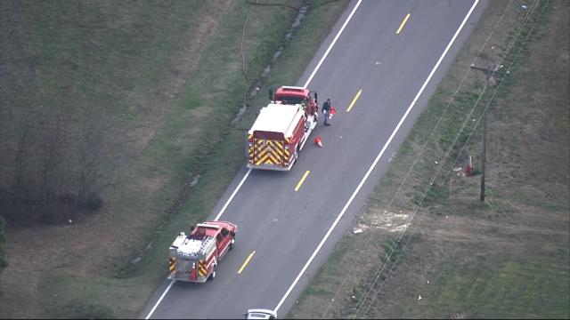 School bus crash on NC-97