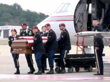 Carrying the casket for Staff Sgt. Ian Paul McLaughlin