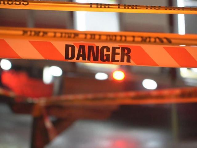 'Danger' crime scene tape<br/>Photographer: John Payne