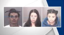 IMAGES: Three arrested after Lumberton woman dies in house fire