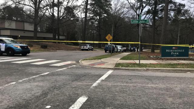 Man shot to death near Raleigh park