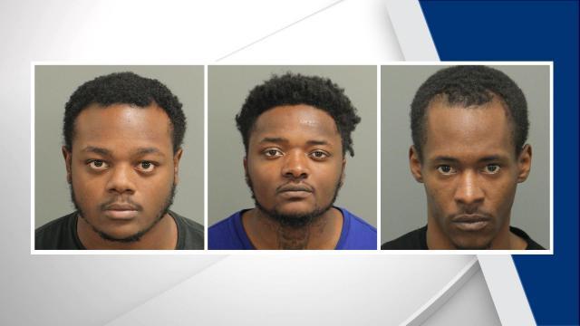 3 arrested after man fatally shot near Raleigh park