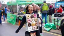 IMAGES: Krispy Kreme Challenge in Raleigh