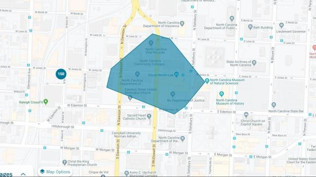 Power outage in downtown Raleigh impacts 150.