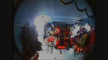 IMAGE: Coast Guard video shows rescue of cargo ship engineer off Hatteras Island