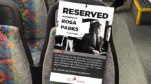 IMAGES: GoRaleigh bus reserves special seat for Rosa Parks