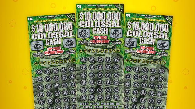 Colossal Cash (NC Education Lottery photo)