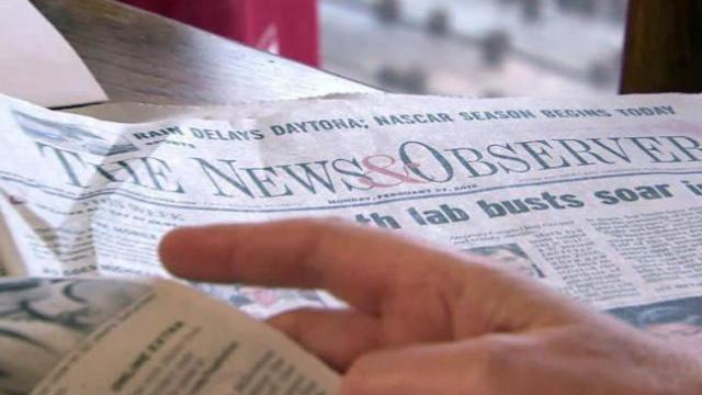 McClatchy, owner of News & Observer, files for bankruptcy