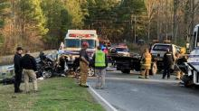 IMAGE: Driver of vehicle killed after head-on crash with Northampton County activity bus