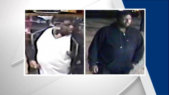 Raleigh police are hoping someone will recognize a man who was seen assaulting another person on Friday outside a southeast Raleigh gas station.
