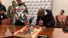 IMAGES: American fashion designer Dapper Dan outlines keys to success in appearance at NCCU