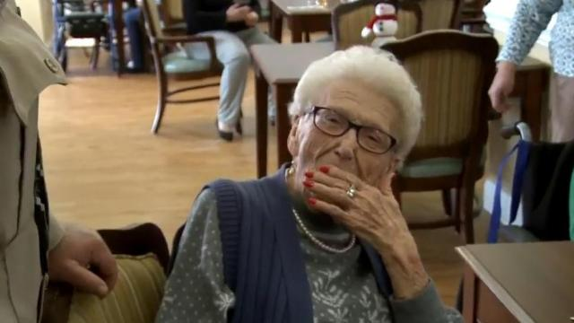 100-year-old Ruth Bryant got arrested for her birthday