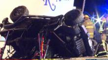IMAGES: Seven Mount Olive students involved in Jeep crash, two killed