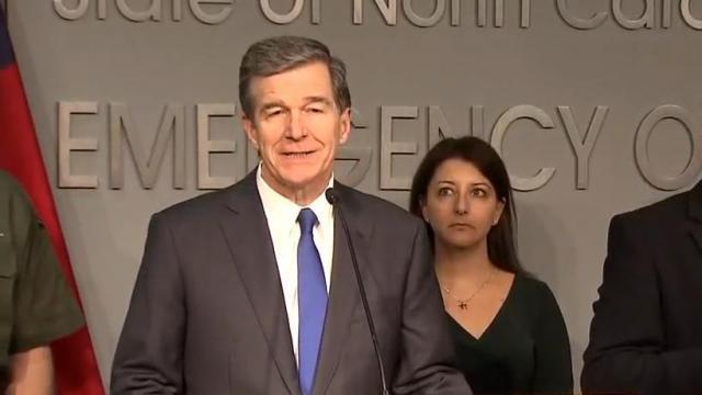 Gov. Roy Cooper press conference