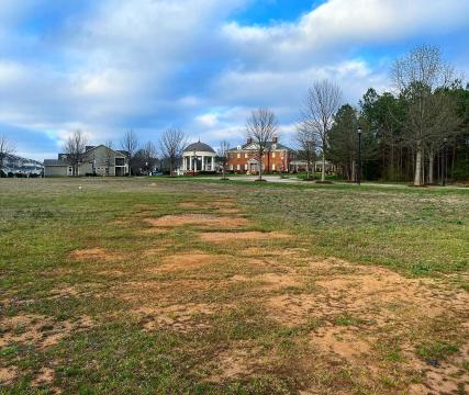 Remaining runway strip from Raleigh's first airport