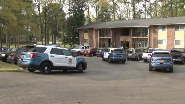A man was stabbed around before 9 a.m. on Sunday inside a Raleigh apartment.
