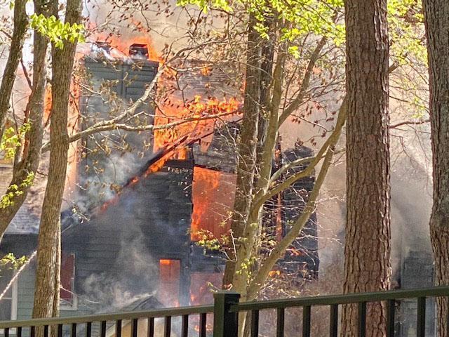 Regency Place apartment fire