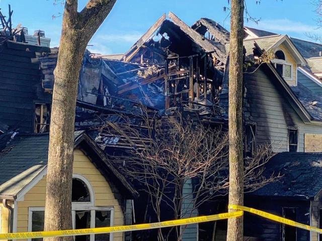 Apartment fire causes massive damage